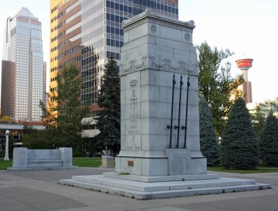 Calgary Cenotaph in Central Memorial Park