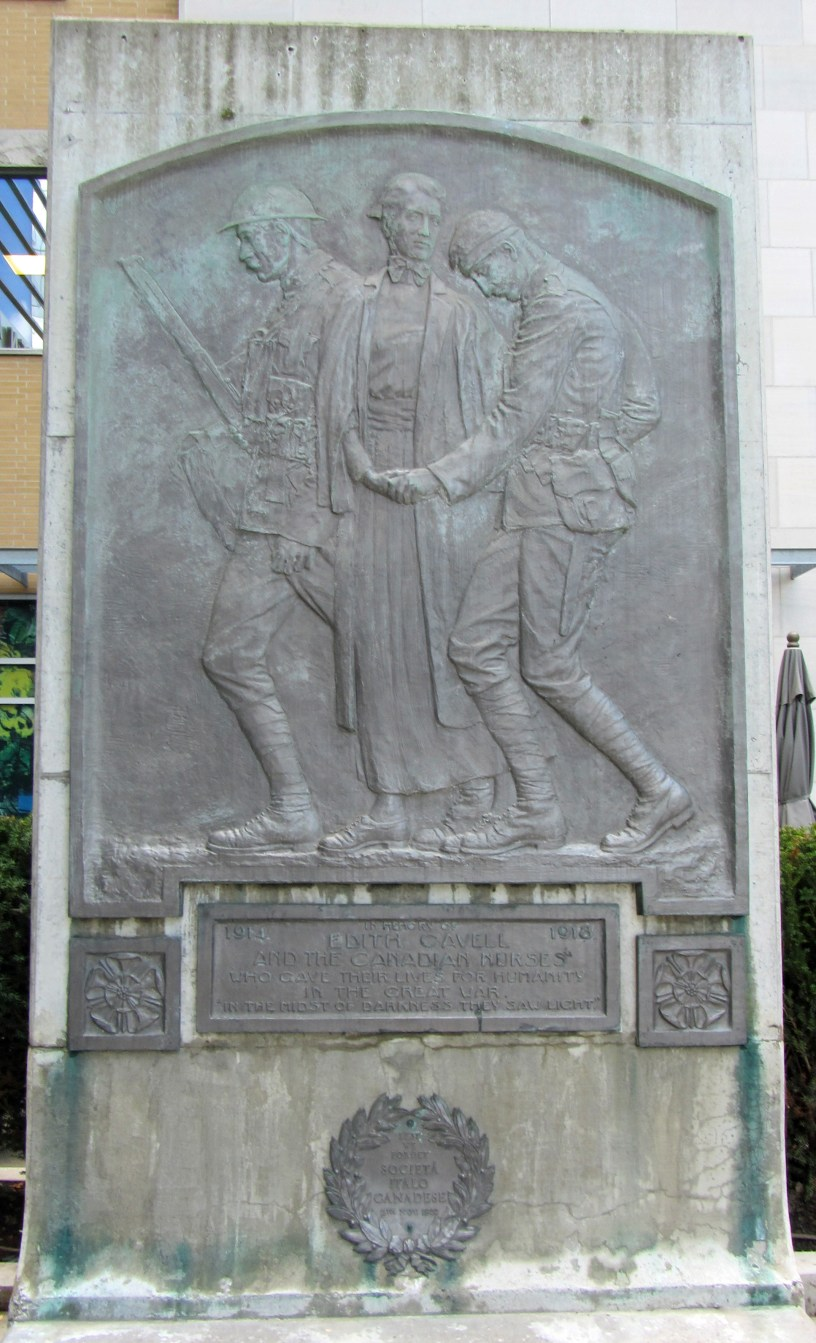 Monument to Edith Cavell and Canadian nurses, Toronto