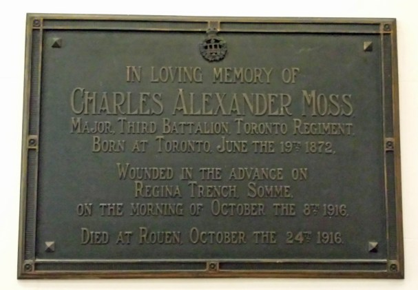 Charles Moss: an able counsel, a kindly associate and an honorable man
