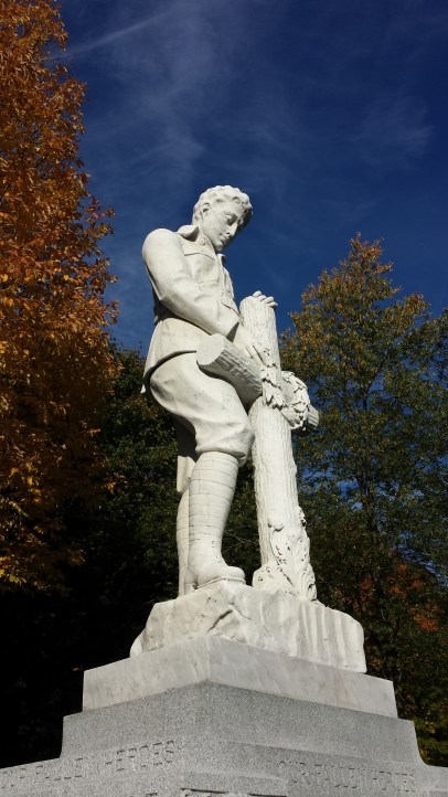 Marble statue in Priceville imitates work of Emanuel Hahn