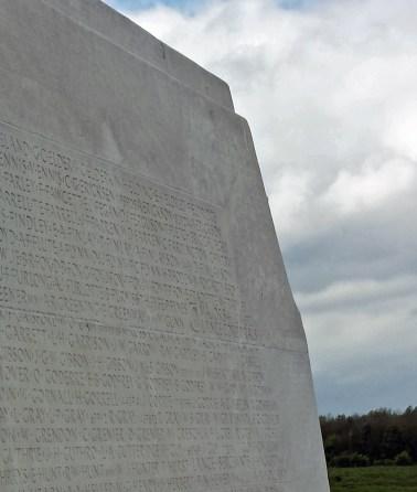John Gordon Wardlaw Gibson, Vimy Monument