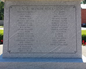 Honor Roll includes nursing sister Gertrude Andrews