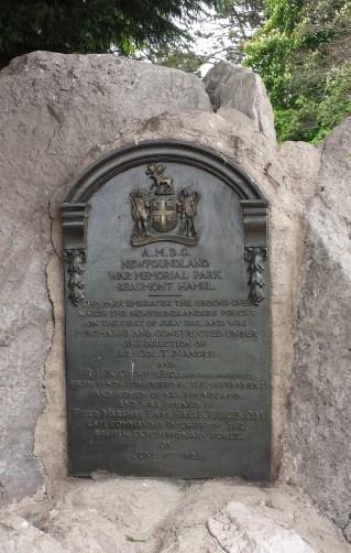 Beaumont-Hamel Newfoundland Memorial Park