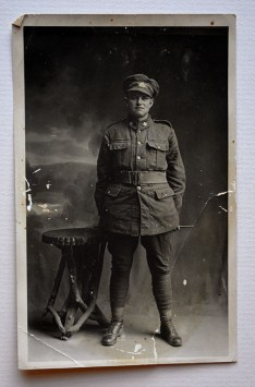 Pte. Robert Harold Johnston [date unknown]. Johnston was killed at the Canal-du-Nord in 1918.