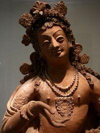 Bodhisattva, Afghanistan, vallée du Ghorband, ...