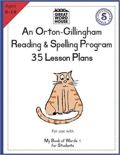 OG Spelling & Reading Program, 35 Lesson Plans