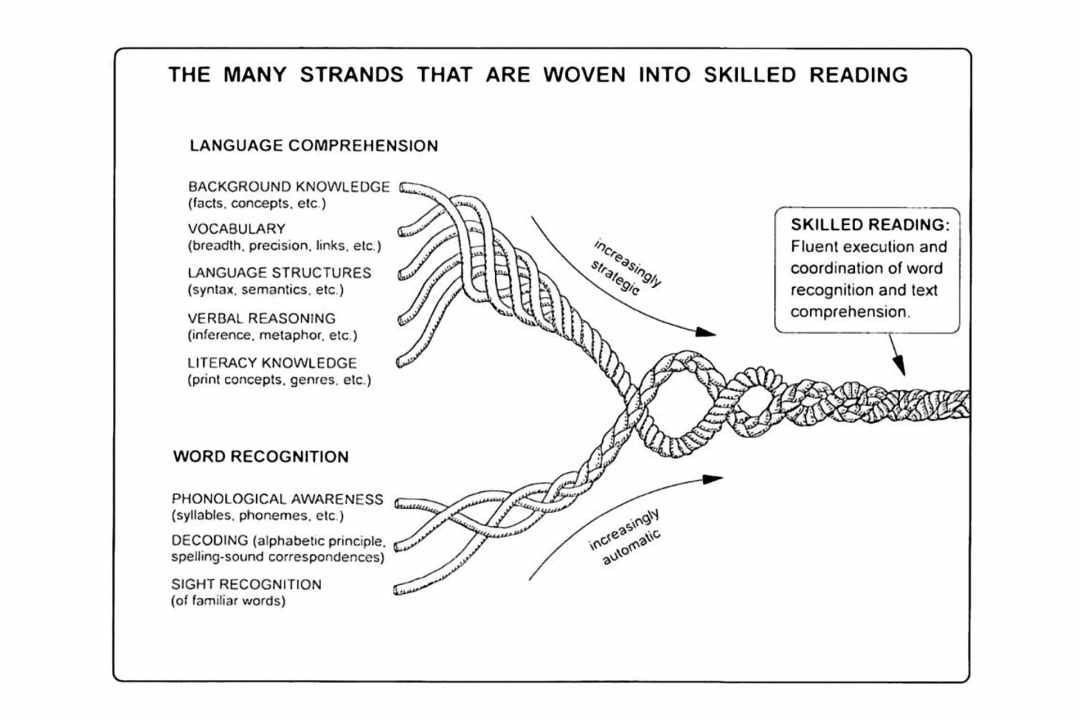 Scarborough's Rope Model of Reading