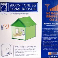 Recensione di un repeater UMTS con rete 3: zBoost-ONE 3G Signal Booster