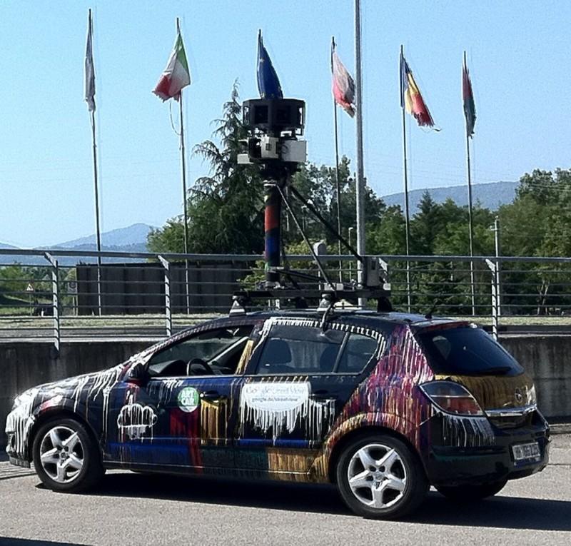La Google Street View car è tornata in Casentino !