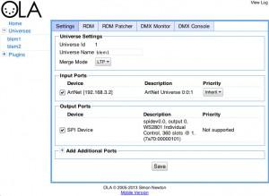 Esempio di configurazione di OLA