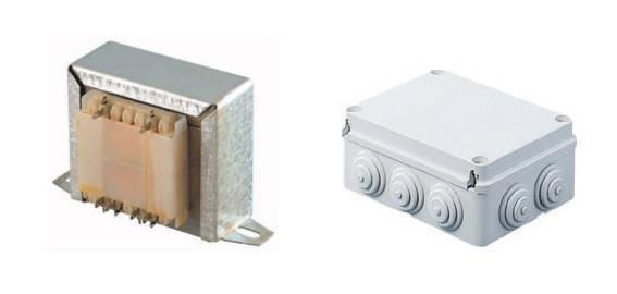 Alimentatore e scatola