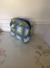Liviana's quilted iPad case