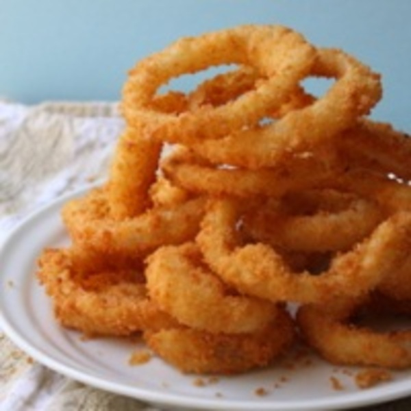 Ricetta Fried Onion Rings  CookEatShare