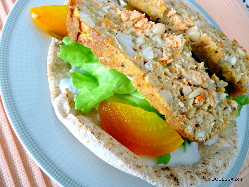 Ricetta Salmon Potato White Bean loaf  CookEatShare