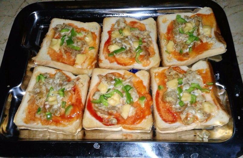 Ricetta SLICED BREAD PIZZA  CookEatShare