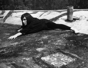 Historia de un vampiro: sucedió en Coyoacán en 1962 [Story of a Vampire: It Happened in Coyoacán in 1962], 1962Gelatin silver print9.6 x 7.6 in. Published Credit: Kati Horna/Ana María Norah Horna y Fernández