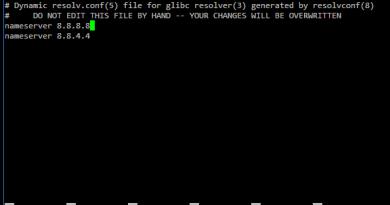 Come cambiare i server DNS in Ubuntu Server