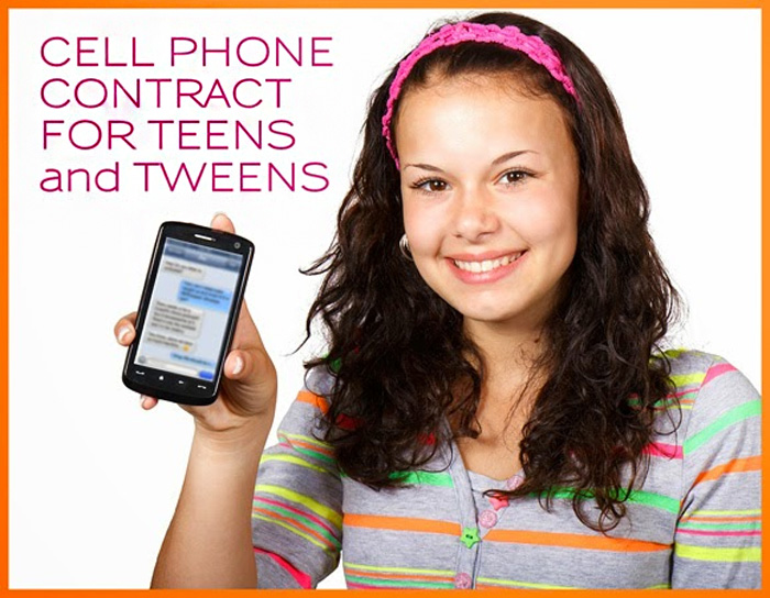 Cell Phone Contract for Teens