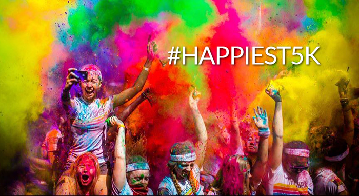 Color Run Denver Happiest 5K