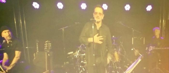 Bono U2 - AYA Summit