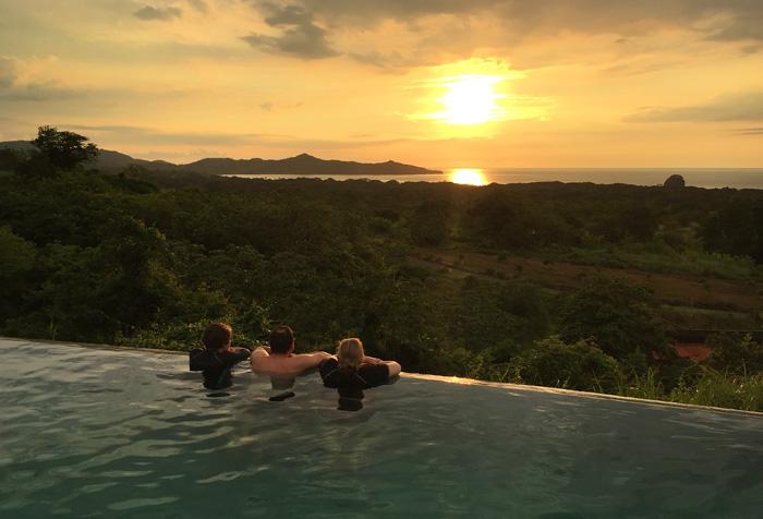 Sunset Dinner, Costa Rica