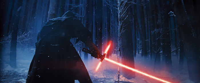 Kylo Ren Lightsaber - Star Wars: The Force Awakens