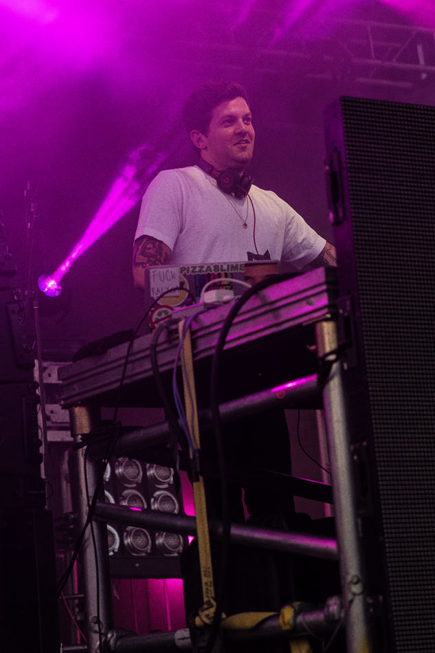 EDM DJ Dillon Francis closes out Denver's Westword Music Showcase in 2016.