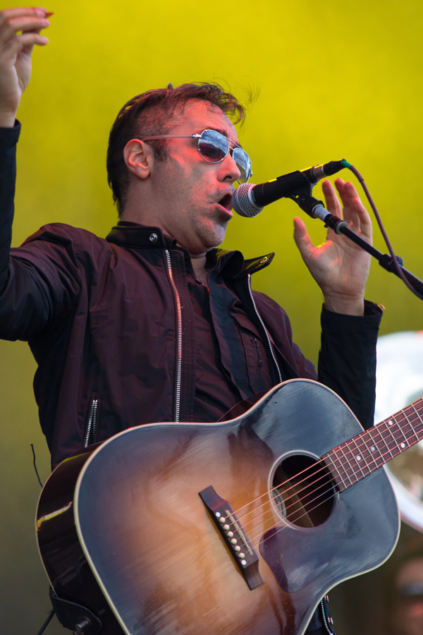 Denver band DeVotchKa at Riot Fest 2016