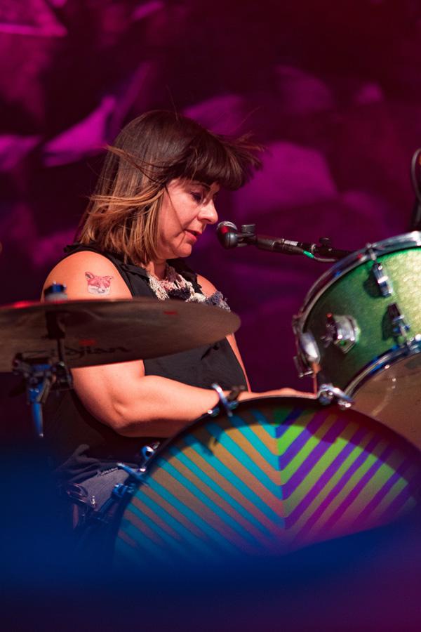 Sleater Kinney at Riot Fest Denver 2016