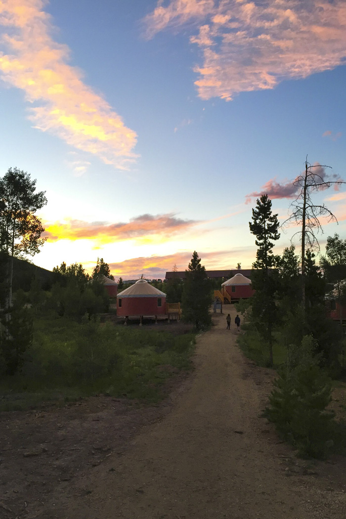 YMCA Snow Mountain Ranch New Yurt Village  Fall Activities