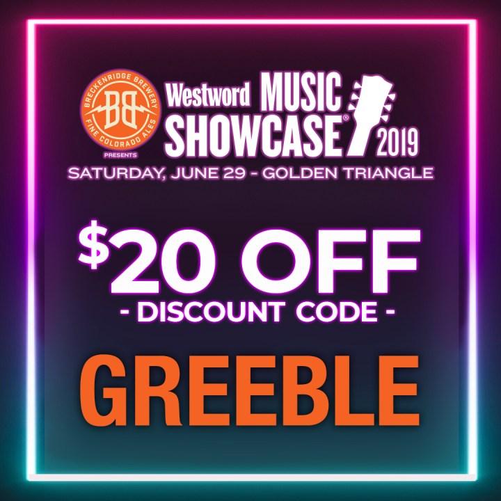 Westword Music Showcase Discount Code