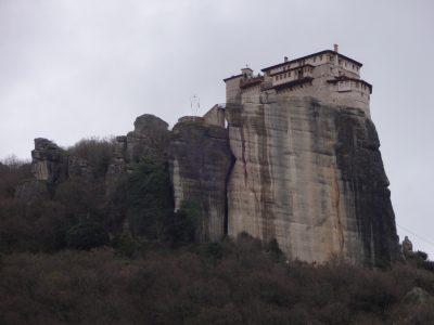 メテオラ ルサヌ修道院