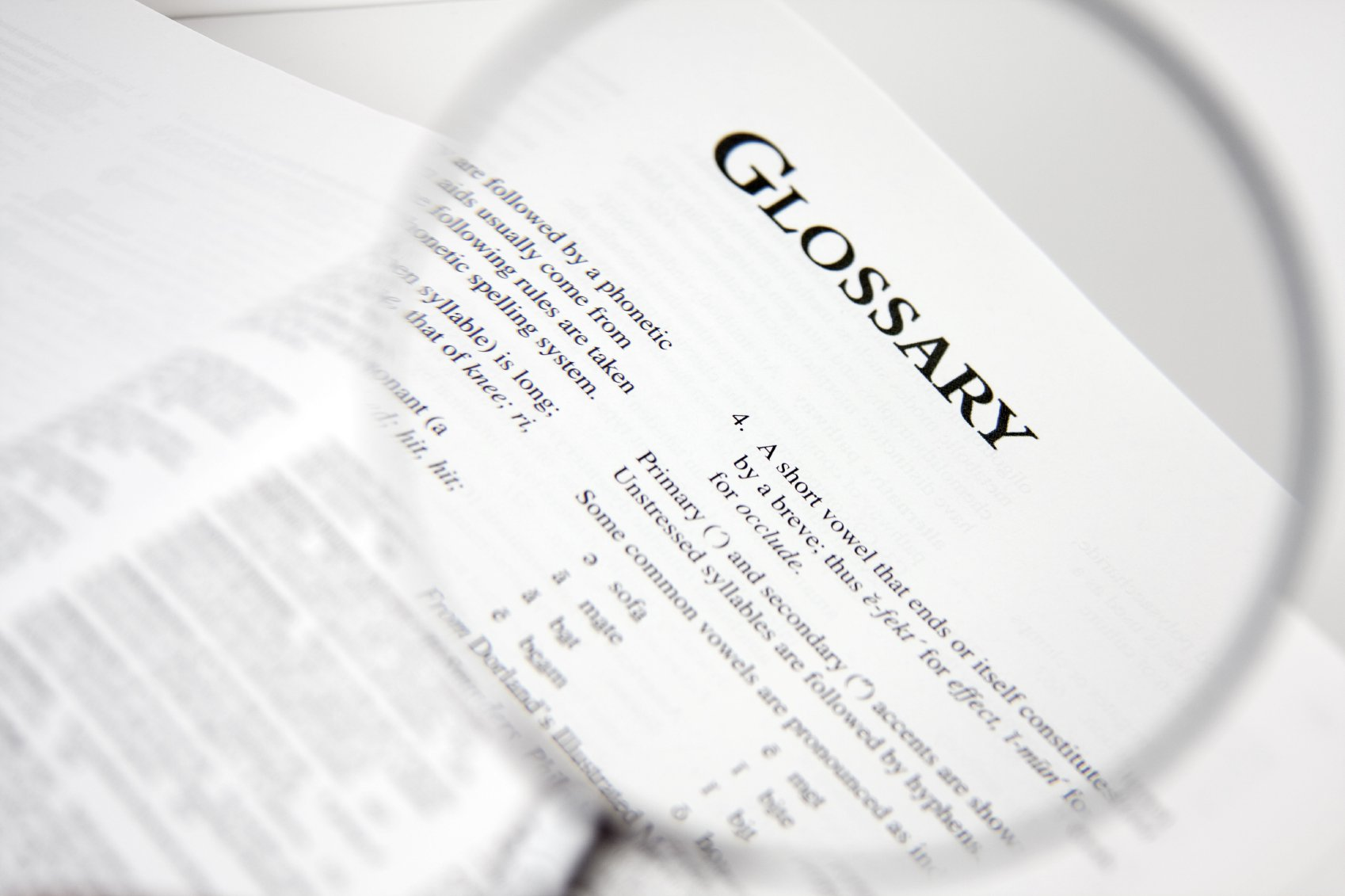 hight resolution of a glossary of nautical terms a z