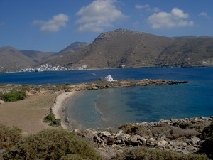 Agios Panteleimon church in Maltezi in Amorgos