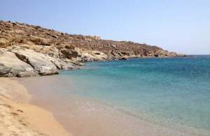 Lia beach in Mykonos