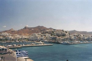 Hora and the port of Naxos