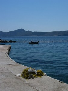 at the small port of Chryssomilia in Fournoi