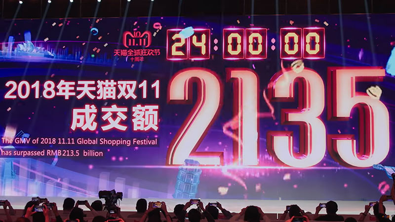 วันคนโสด คือ Alibaba Single Day 11.11 คือ Lazada 11.11