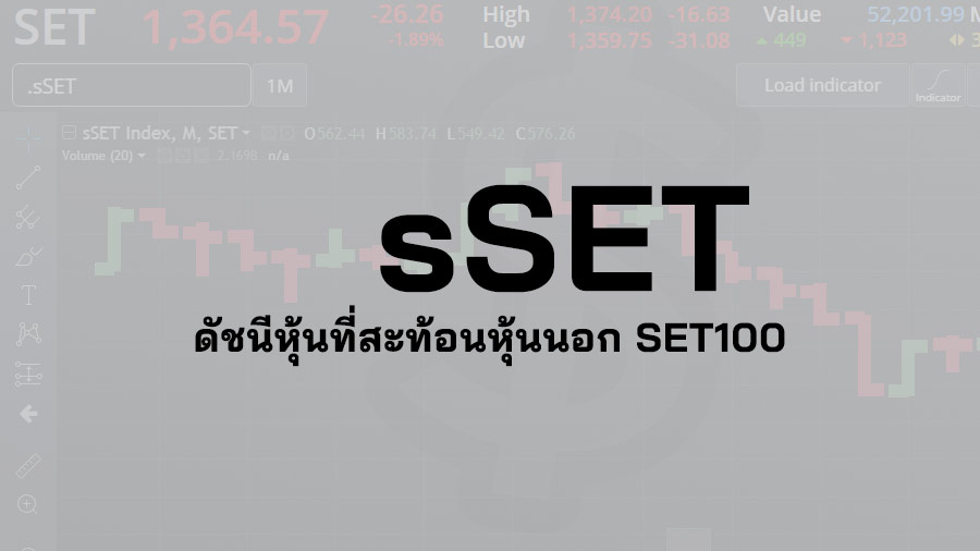 sSET คือ ดัชนี หุ้น sSET Index คือ