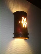Mission lampshade