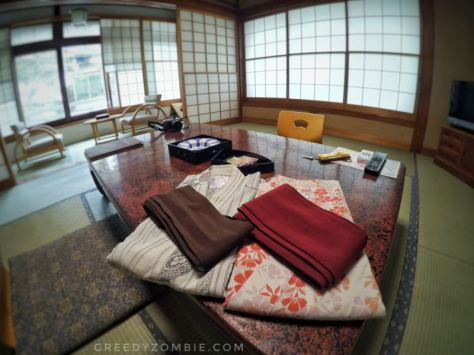 Our room at Takaragawa Onsen
