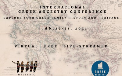 Are you ready for the International Greek Ancestry Conference?