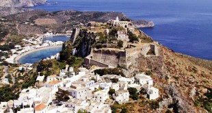 Castle of Chora KYTHIRA , GREECE