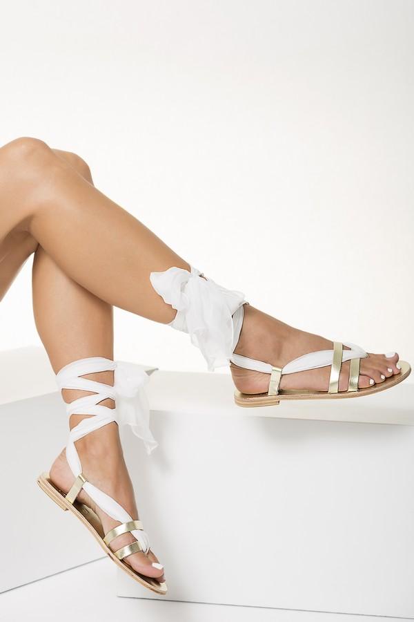 Ivory Wedding Sandals