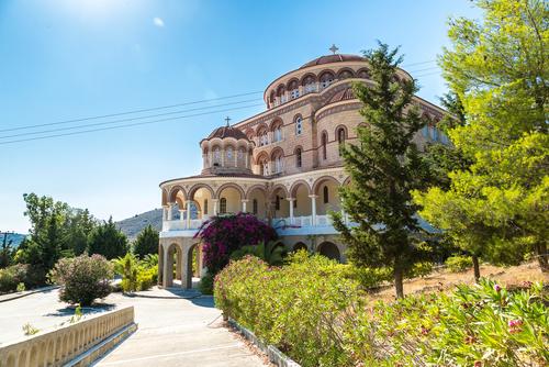 Agios Nektarios Monastery - Aegina