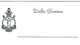 Alpha Stationery – Place Cards – Placecards
