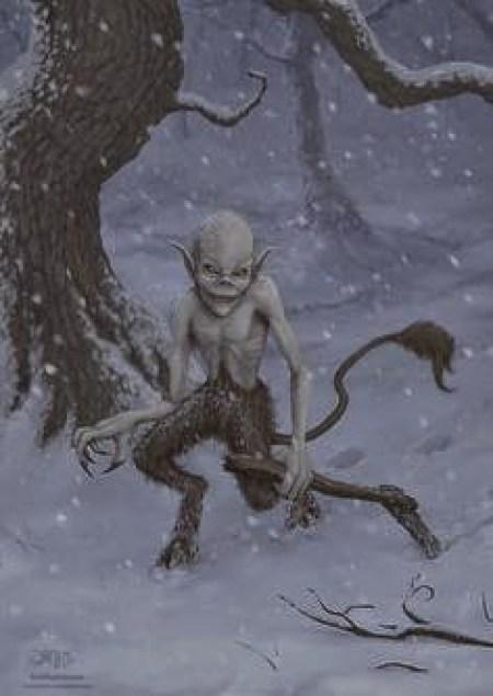 Kallikantzaroi-Greek Christmas goblins