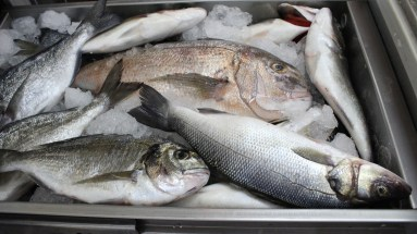 Fresh fresh fish. My husband's favorite.