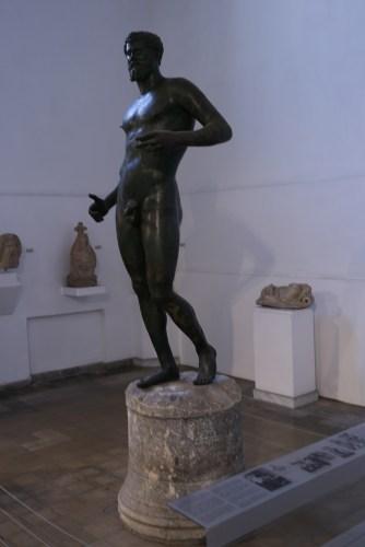 Bronze sculpture of Septimius Severus, Kythira, Cyprus