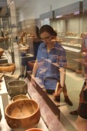 Checking out Neolithic pottery with Professor Hruby